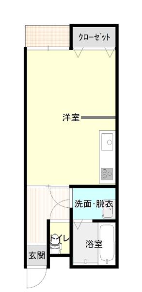 C犬島1階平面2