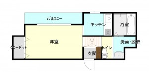 C砂町406リフォーム_改1階平面